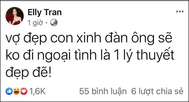 Giữa nghi vấn bị chồng Tây cắm sừng, Elly Trần viết status khó hiểu gửi hai con thơ-1