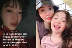 Giữa nghi vấn bị chồng Tây 'cắm sừng', Elly Trần viết status khó hiểu gửi hai con thơ