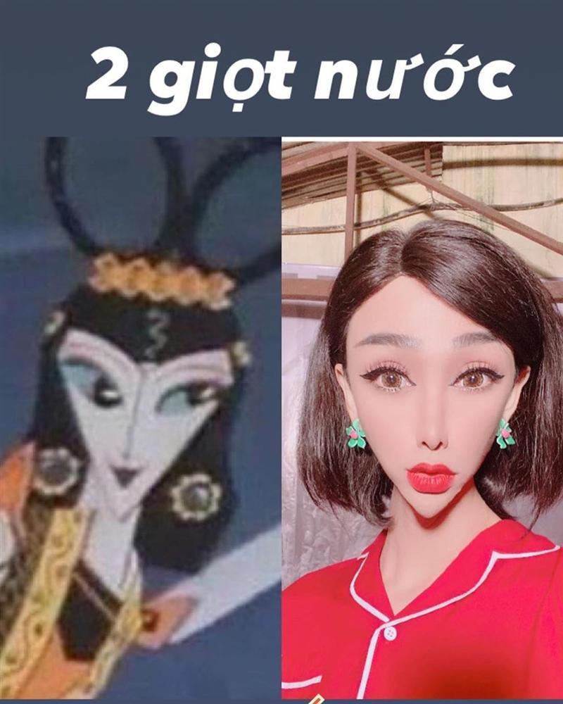 Hãi hùng với gương mặt như người ngoài hành tinh của Hải Triều-4
