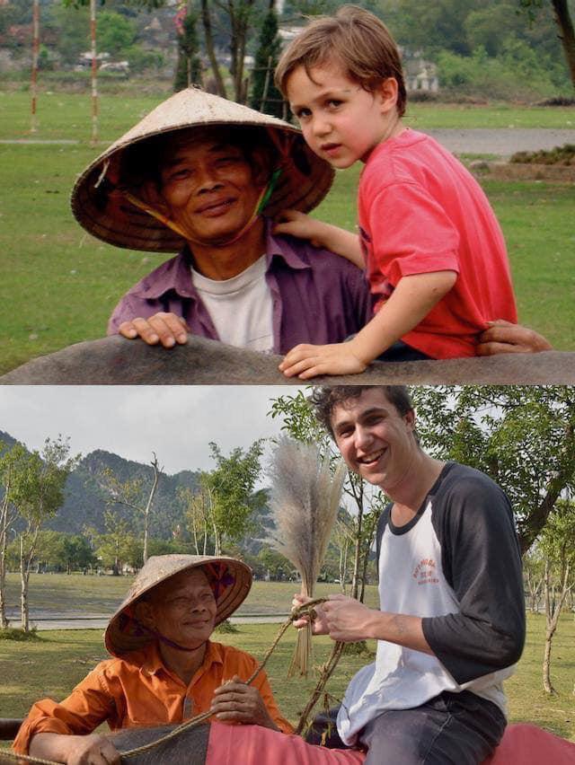 Cuộc gặp gỡ kỳ diệu của nam du khách nước ngoài cùng người đàn ông chăn trâu ở Ninh Bình sau 15 năm và câu chuyện thú vị phía sau-2