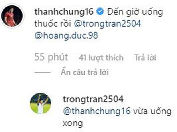 Trước trận đấu đầu tiên VCK U23 châu Á, clip Đình Trọng cùng đồng đội quẩy banh nóc nhà-1