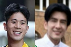 Fan gọi Đình Trọng là 'Đan Trường bản cầu thủ' vì mái tóc bổ luống
