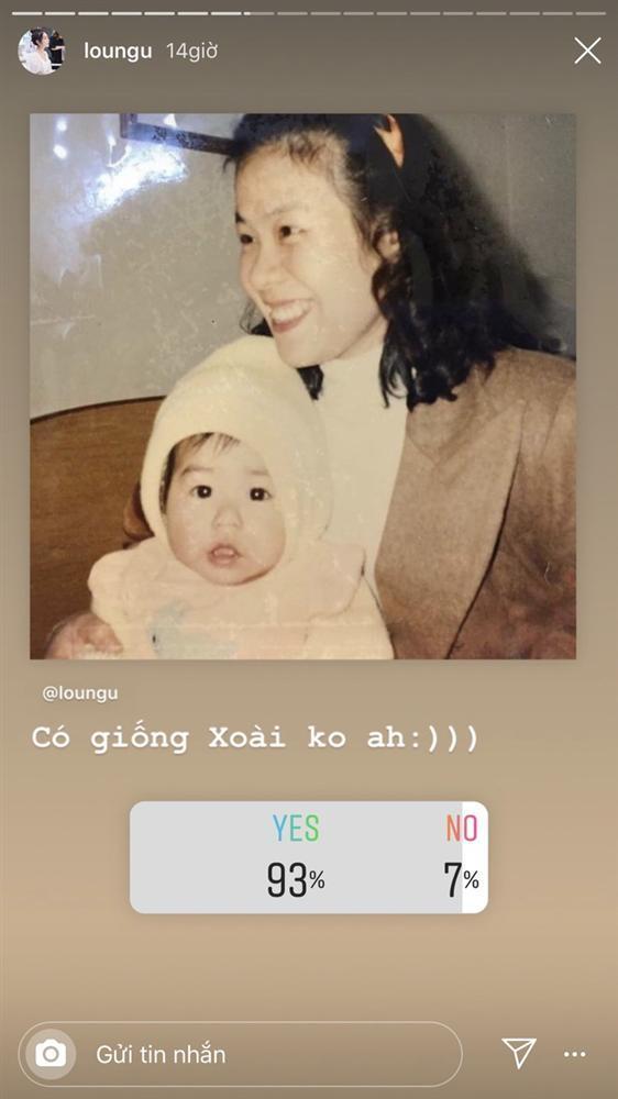 Hot girl Trang Lou khoe ảnh hồi bé giống hệt con trai đầu lòng-1