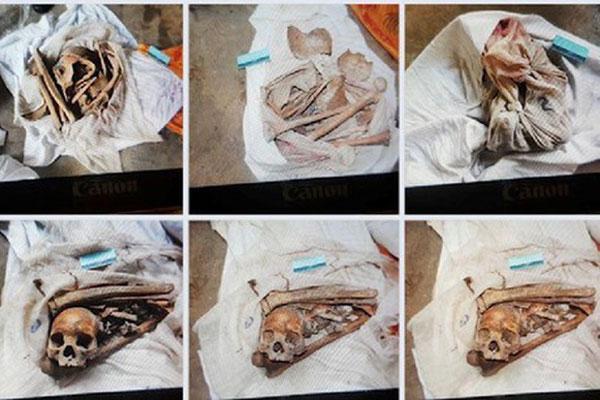 Rùng mình lời kể của người đầu tiên phát hiện 9 bộ xương người ở Tây Ninh: Tưởng gáo dừa nên lấy tay bóc ra coi thử mới tá hỏa sọ người-1