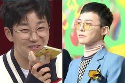 Nam rapper phấn khích khi được gọi điện cho thần tượng G-Dragon
