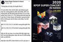 Trước giờ diễn chính thức chưa đầy 24h đồng hồ, BTC Kpop concert in Hanoi lại khiến fan phẫn nộ về chuyện chỗ ngồi