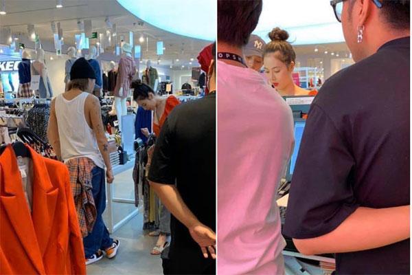 Nữ hoàng quyến rũ HyunA mua sắm ở quận 1-1