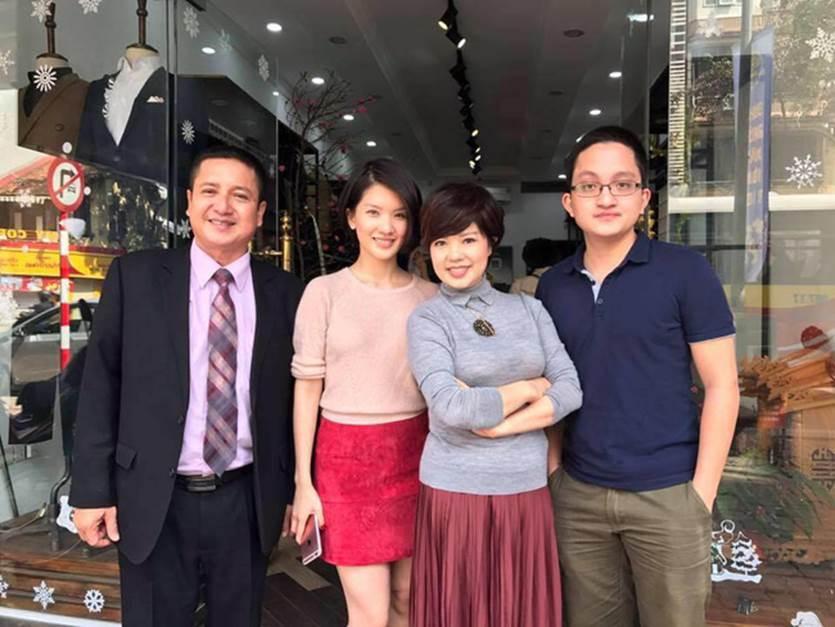 Nhan sắc cực phẩm của con gái nghệ sĩ Chí Trung, được ví là bản sao mỹ nhân Song Hye Kyo-1