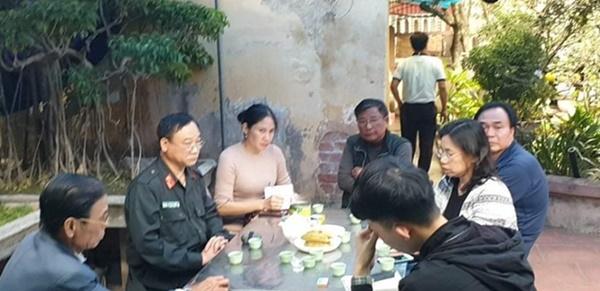 Không ngăn được nước mắt trong ngôi nhà người cán bộ hy sinh ở Đồng Tâm-3