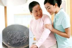 Cười ngất với ảnh món ăn mẹ chồng gửi cho con dâu, 'toang' 2 triệu tiền Tết
