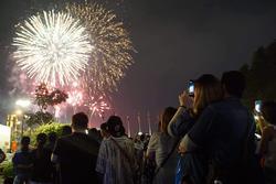 30 điểm bắn pháo hoa dịp Tết Nguyên đán 2020 ở Hà Nội