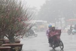 Từ 11-17/1, các tỉnh miền Bắc tiếp tục mưa - rét