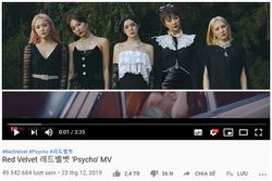 'Psycho' của Red Velvet chính thức trở thành MV đạt mốc gần 50 triệu view nhanh nhất SM