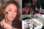 Văn Mai Hương trang điểm xinh đẹp đi diễn, khoe hoa đầy giường sau ồn ào clip nóng