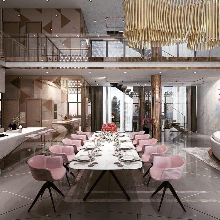 Choáng ngợp với không gian sang chảnh trong biệt thự 2 triệu đô vừa xây của Ngọc Trinh-3
