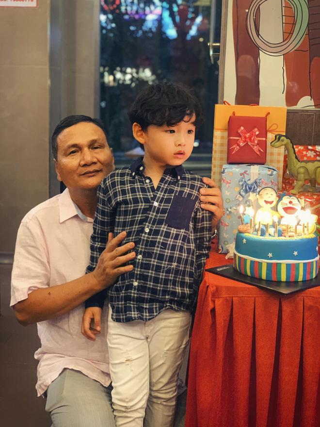 Ông xã Diễm Hương vắng mặt trong tiệc sinh nhật con trai giữa tâm bão ly hôn-3