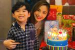 Ông xã Diễm Hương vắng mặt trong tiệc sinh nhật con trai giữa tâm bão ly hôn
