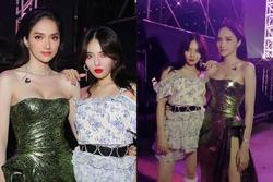 Hoa hậu Hương Giang chạm trán 'Nữ hoàng gợi cảm' HyunA: Nhan sắc khó phân định thắng thua