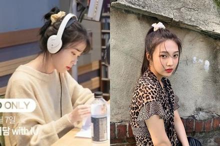 IU, Jennie và dàn mỹ nhân Hàn lăng xê mốt dùng chun vải từ thời cha mẹ