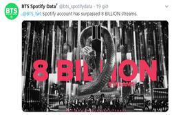 BTS vượt 8 tỷ stream trên Spotify, là nhóm nhạc Kpop đầu tiên làm được việc này!