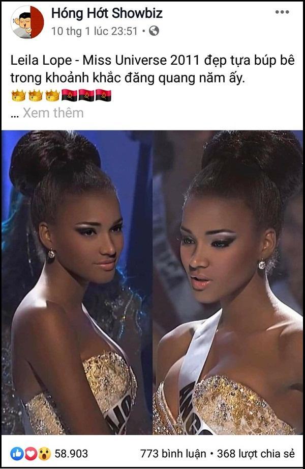 Hoa hậu Hoàn vũ đang gây sốt mạng Việt: Đẹp như tiên vẫn bị miệt thị con khỉ mặc váy-2