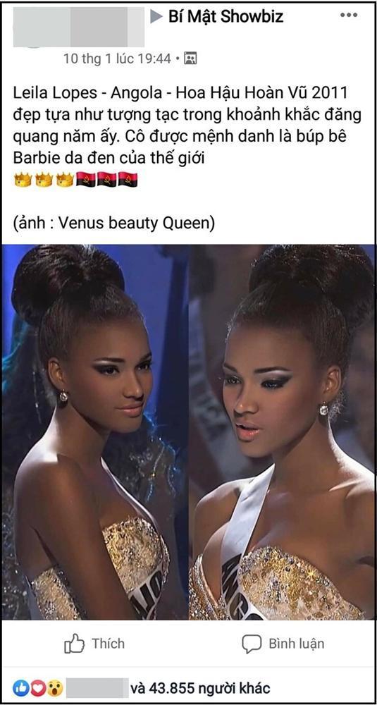 Hoa hậu Hoàn vũ đang gây sốt mạng Việt: Đẹp như tiên vẫn bị miệt thị con khỉ mặc váy-3