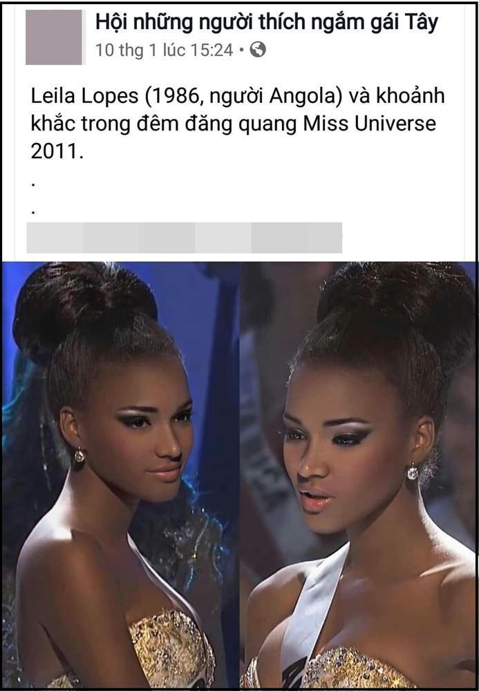 Hoa hậu Hoàn vũ đang gây sốt mạng Việt: Đẹp như tiên vẫn bị miệt thị con khỉ mặc váy-4