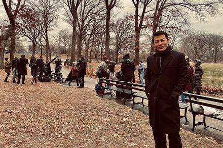 Trần Bảo Sơn mang ekip hùng hậu sang Mỹ quay phim