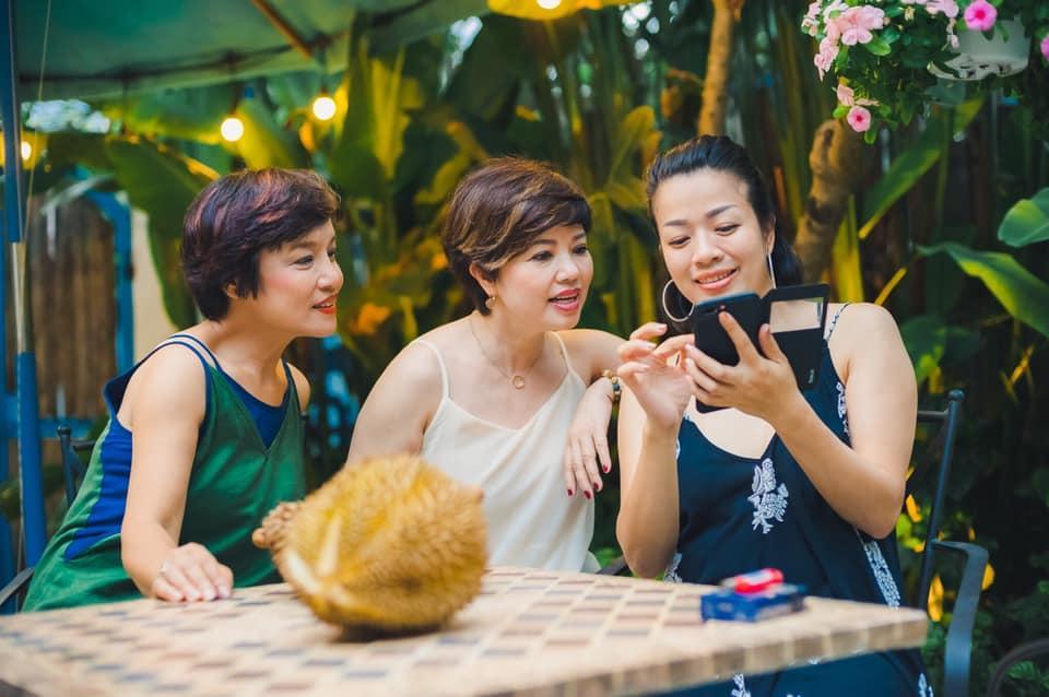 Bạn bè động viên nghệ sĩ Ngọc Huyền sau ly hôn-5