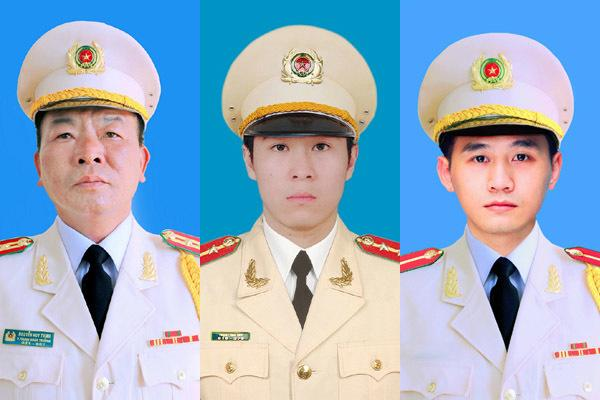 Tổ chức trọng thể lễ tang 3 chiến sĩ hy sinh ở Đồng Tâm
