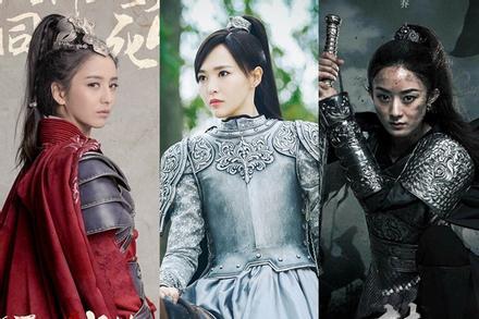 Triệu Lệ Dĩnh, Đồng Lệ Á, Đường Yên, ai mới là nữ tướng đẹp nhất màn ảnh Hoa ngữ?