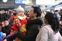 3 tỷ chuyến đi trong mùa Xuân vận ở Trung Quốc