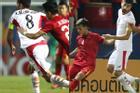Góc lạ lẫm: Cầu thủ U23 Jordan 'cố tình' đi tất thủng trong trận gặp U23 Việt Nam