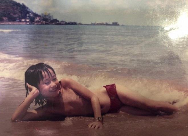 Hứa Minh Đạt đăng ảnh độc lạ của Lâm Vỹ Dạ thuở bé, dìm đẹp bà xã không thương tiếc-2