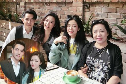 Khoe ảnh sinh nhật anh trai, em gái Ông Cao Thắng làm dân tình chú ý về nhan sắc mẹ ruột
