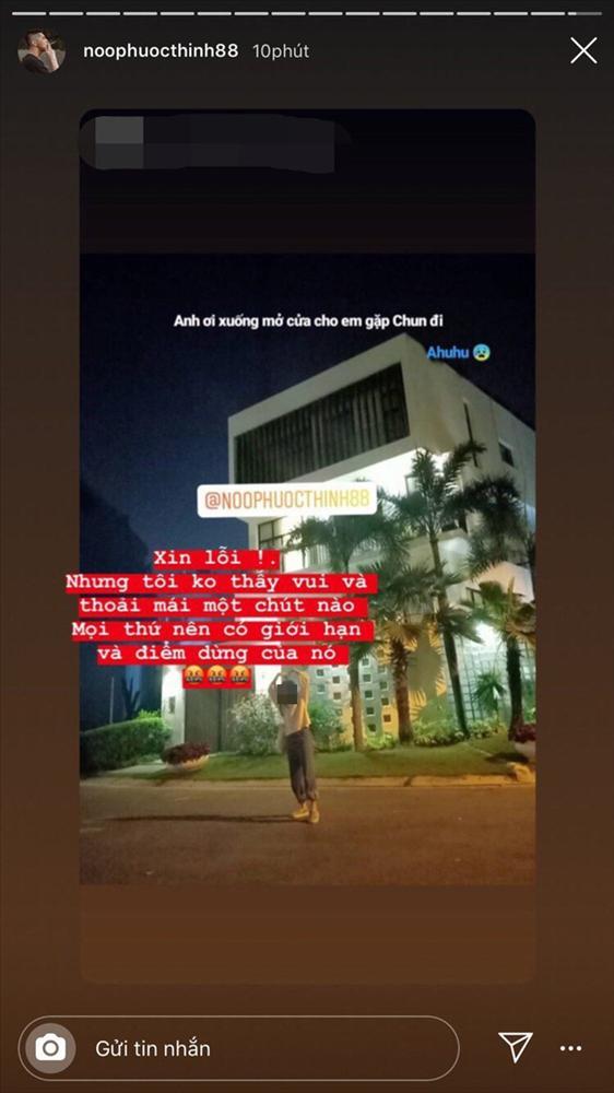 Noo Phước Thịnh bức xúc khi fan cuồng tới tận nhà rình mò check-in lúc nửa đêm-1