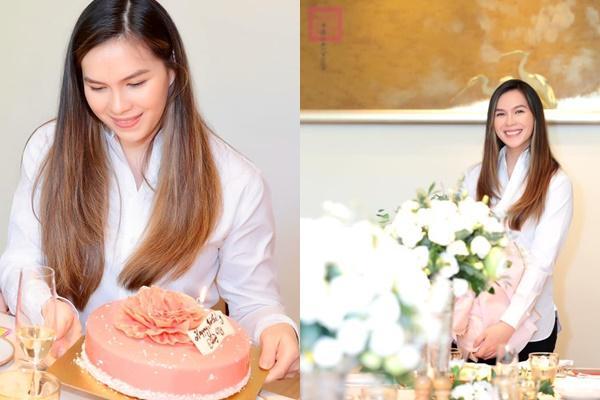 Diện đồ lạc quẻ trong tiệc sinh nhật chuẩn quý tộc, con gái nữ hoàng ảnh lịch Diễm My vẫn đẹp kiêu sa-1