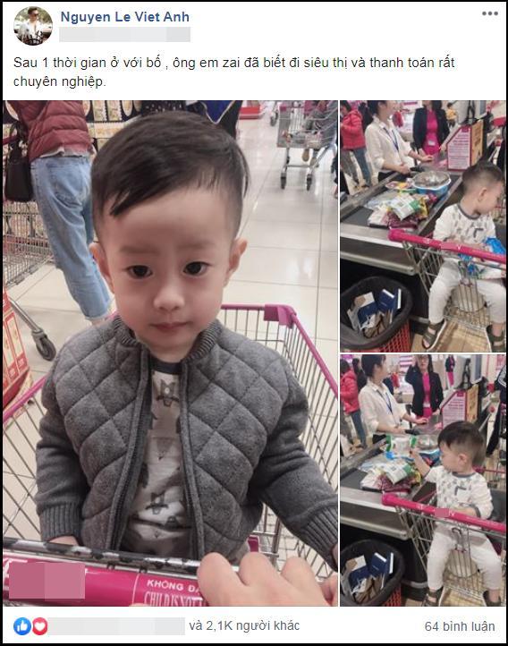Sau ồn ào giành quyền nuôi con, Việt Anh tiết lộ đã hoàn thành tâm nguyện sống cùng quý tử-1