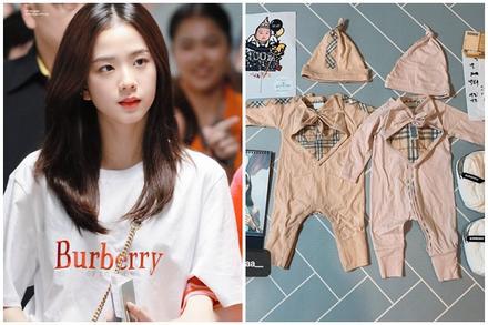 Mua đồ hiệu Burberry tặng cháu gái mới hơn 3 tháng tuổi, Jisoo chính là người dì quốc dân ai cũng muốn có
