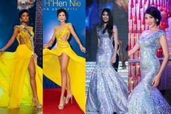 Mặc lại 'chiếc váy định mệnh' trên đấu trường quốc tế, mỹ nhân Việt nào đạt phong độ đỉnh cao?