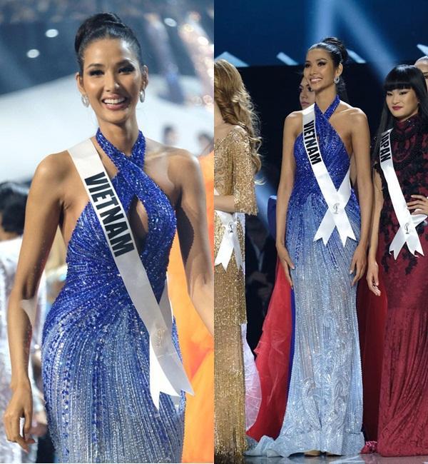 Mặc lại chiếc váy định mệnh trên đấu trường quốc tế, mỹ nhân Việt nào đạt phong độ đỉnh cao?-1