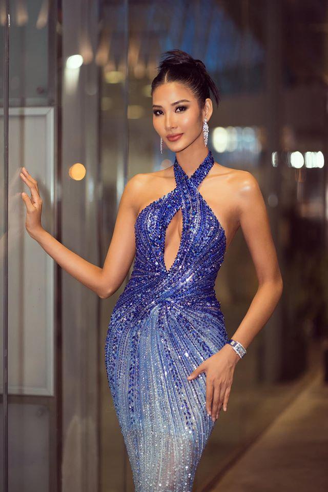 Mặc lại chiếc váy định mệnh trên đấu trường quốc tế, mỹ nhân Việt nào đạt phong độ đỉnh cao?-2