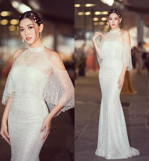 Mặc lại chiếc váy định mệnh trên đấu trường quốc tế, mỹ nhân Việt nào đạt phong độ đỉnh cao?-5