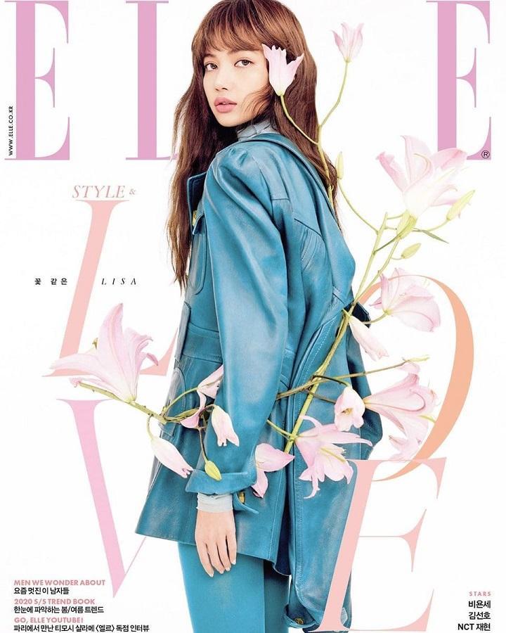 Lisa Blackpink đẹp hơn hoa trên bìa tạp chí, chia sẻ về tình yêu với các thành viên-1