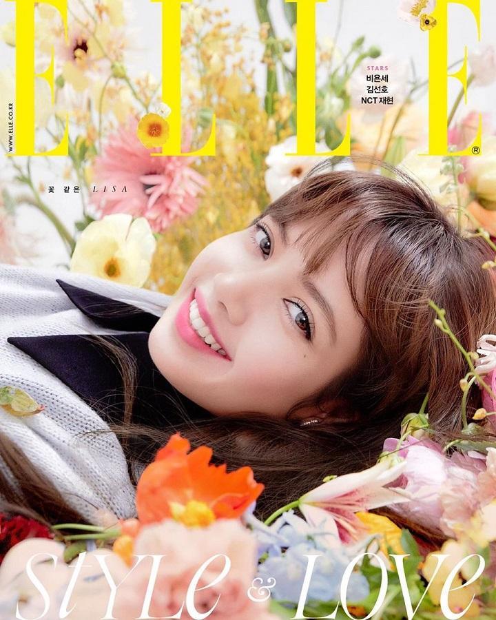 Lisa Blackpink đẹp hơn hoa trên bìa tạp chí, chia sẻ về tình yêu với các thành viên-3