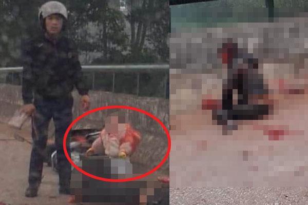 Vụ thanh niên chém người mẹ chở con ở Thái Nguyên: Đối tượng đã đầu thú