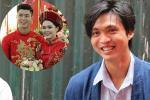 Bức ảnh HOT nhất đám hỏi Duy Mạnh - Quỳnh Anh: Cô dâu bị cảm, chú rể xoa đầu giúp vợ-4