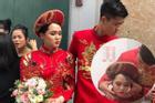Bức ảnh HOT nhất đám hỏi Duy Mạnh - Quỳnh Anh: Cô dâu bị cảm, chú rể xoa đầu giúp vợ
