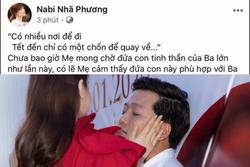 Nhã Phương khéo động viên ông xã Trường Giang cực ngọt khi phim Tết gặp trục trặc