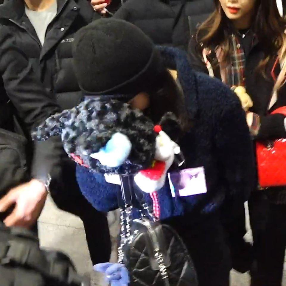 BLACKPINK Jennie cúi gằm mặt, lộ vẻ hoảng sợ tại sân bay-2
